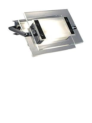 Leucos Wand- und Deckenlampe 360° 120 metallic/kristall