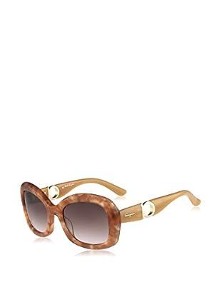 Salvatore Ferragamo Sonnenbrille (53 mm) beige/nude