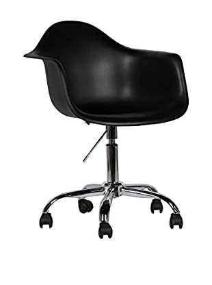 Lo+Demoda Bürostuhl 2er Set Pring schwarz