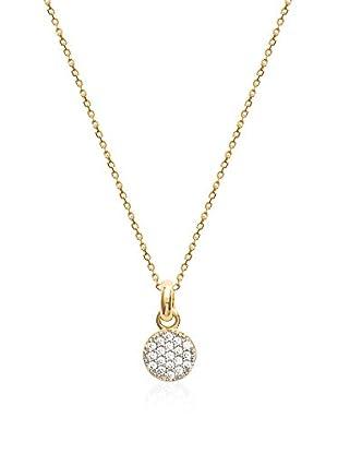 BALI Jewelry Set catenina e pendente metallo placcato oro 18 kt