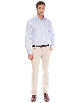 Arrow Camisa Kent (azul / blanco)