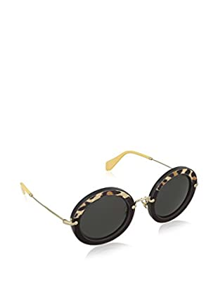Miu Miu Occhiali da sole 08RS USC1A1 49 (49 mm) Nero/Leopardo