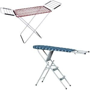 Cloth Drying Stand & Ironing Board cum Ladder
