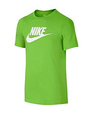 Nike Camiseta Manga Corta Ctn Crew Fut Icon Td Yth