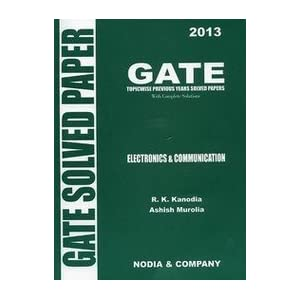 Gate Electronics And Communication Solved Paper