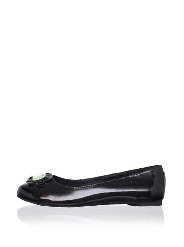 J. Loren Kid's Miryam Dress Shoe (Black Patent)