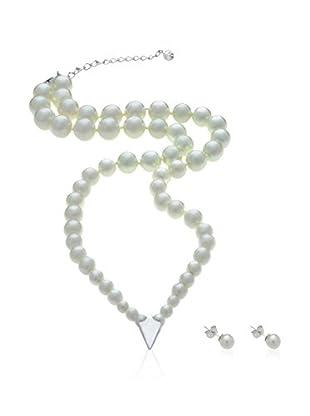 Misaki Conjunto de collar y pendientes Veneto