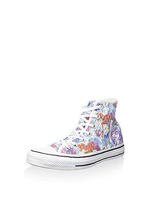 Converse Hightop Sneaker All Star Hi Tiny Crochet Print