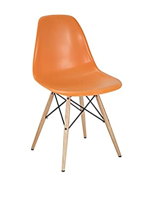 Modway Pyramid Dining Side Chair (Orange)