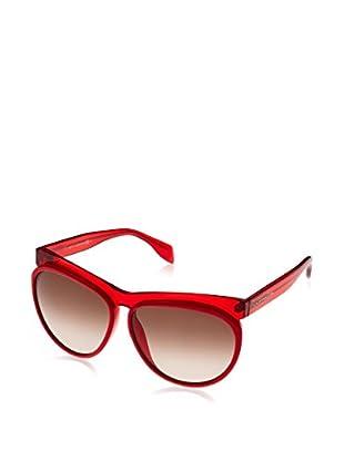 Alexander McQueen Gafas de Sol AMQ4248/S (60 mm) Rojo