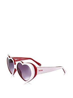 Moschino Gafas de Sol 58503-S (57 mm) Blanco / Rojo