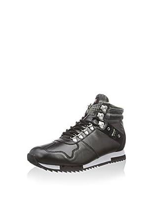 Blauer Hightop Sneaker