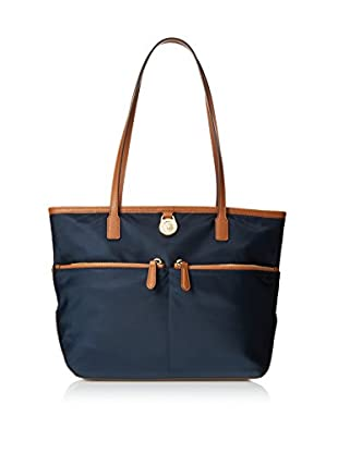 MICHAEL Michael Kors Women's Kempton Medium Pocket Tote, Navy