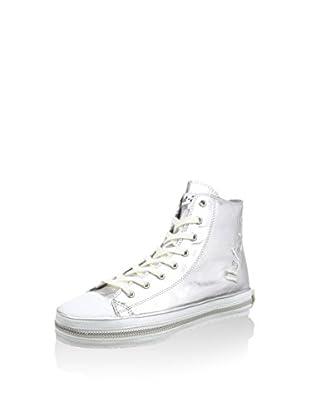 Nat-2 Hightop Sneaker Lind Across