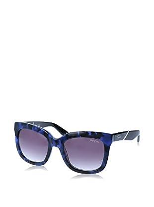 GUESS Sonnenbrille 7342 (53 mm) blau/schwarz