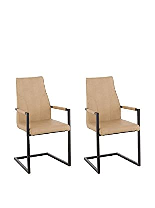 13 Casa Set Silla 2 Uds. Rebel C4 Beige