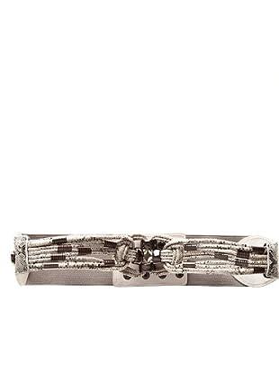 Custo Cinturón Long T (blanco / gris)
