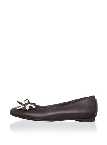 J. Loren Kid's Allina Dress Shoe (Brown)