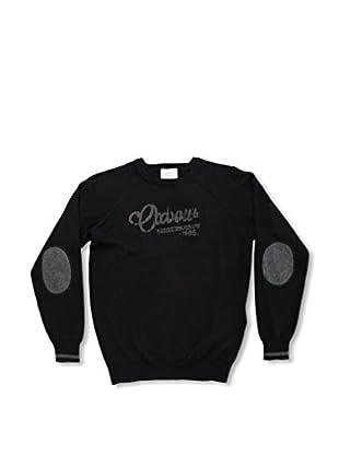 Oxbow Jolo Jungen Pullover mit Rundkragen 134 schwarz - schwarz