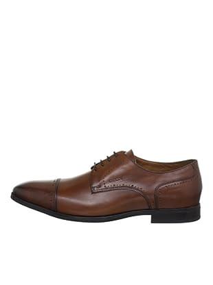 Geox Zapatos Derby (Cognac)