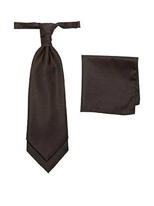 MASTERHAND Set Krawatte und Einstecktuch