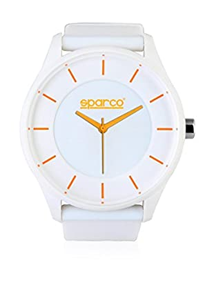 Sparco Orologio Unisex Rubens Bianco 48 mm