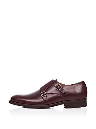 Rooster League Zapatos Monkstrap Hebillas