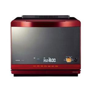 東芝 石窯ドーム 加熱水蒸気オーブンレンジ ER-KD520(R)グランレッド