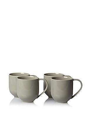 Calvin Klein Collection Set of 4 Mercer Mugs, Stone