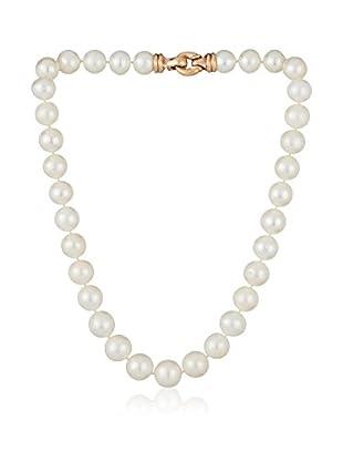 Bentelli Collar 925 Silver Pearls plata de ley 925 milésimas / Rosa