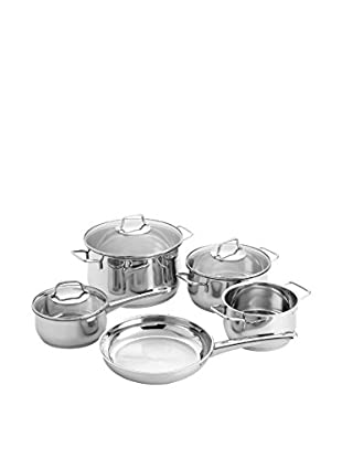 WMF Collier 8 Pc. Cookware Set, Stainless Steel Grey
