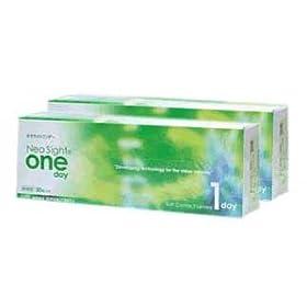 【クリックでお店のこの商品のページへ】ネオサイトワンデー(NeoSight OneDay) 1日使い捨てコンタクト×2箱