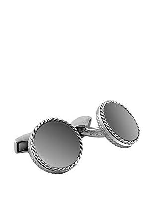 Tateossian Gemelos CL5605 plata de ley 925 milésimas