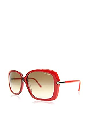 Tom Ford Gafas de Sol FT-PALOMA 0323S-68F (59 mm) Rojo