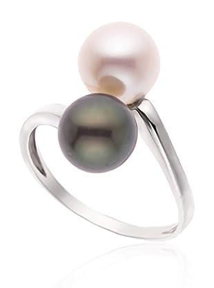 Compagnie générale des perles Anello Solid Toi & Moi