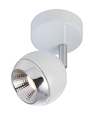 Foco LED SMD 5W blanco y cromo
