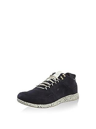 Boxfresh Sneaker Ashmore Ug Sde Nvy/off Wht