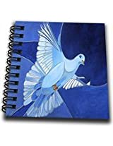 3dRose db_128459_1 Dove The Peace Dove is a Common Christian Symbol of The Holy Spirit Drawing Book, 8 by 8-Inch
