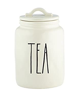 Rae Dunn by Magenta Tea Canister, White
