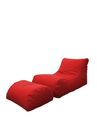 Multicolor Home Chaise Longue Marea Rojo