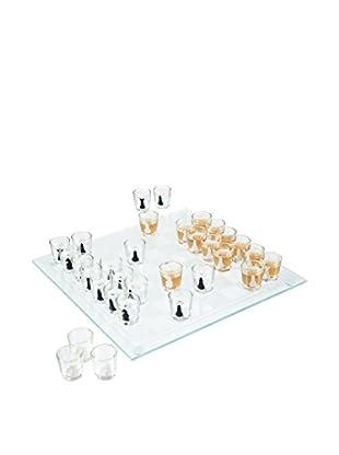 Trademark 32-Piece Shot Glass Drinking Game Chess Set