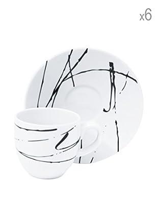 Servizio 6 Tazze Caffe