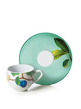 Kaffeetassen-Set, 6-tlg. Le Printemps grün