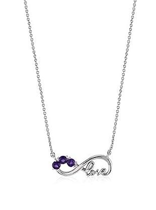 Divas Diamond Collar plata de ley 925 milésimas