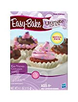 Easy Bake Ultimate Oven Red Velvet Cupcakes Mix Playset