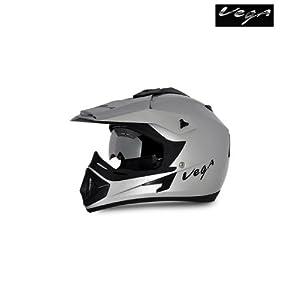 Vega Helmet - Off Road (Silver)