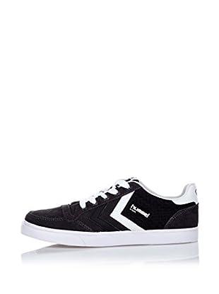 Hummel Sneaker Stadil Woven Low (schwarz)