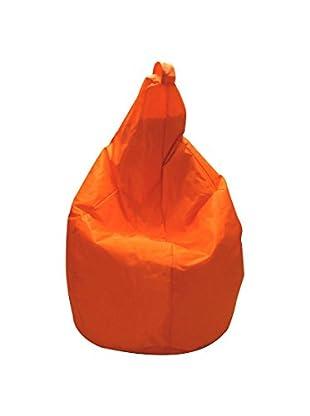 Multicolor Home Sitzsack Nylon orange 80 x 120 cm
