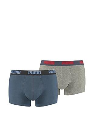 Puma 6tlg. Set Boxershorts Basic Trunk Vintage