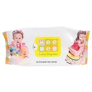 Mee Mee Baby Wet Wipes 80 Pcs (MM-33016)